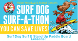 Surf Dog Surf-A-Thon Surf and SUP lessons